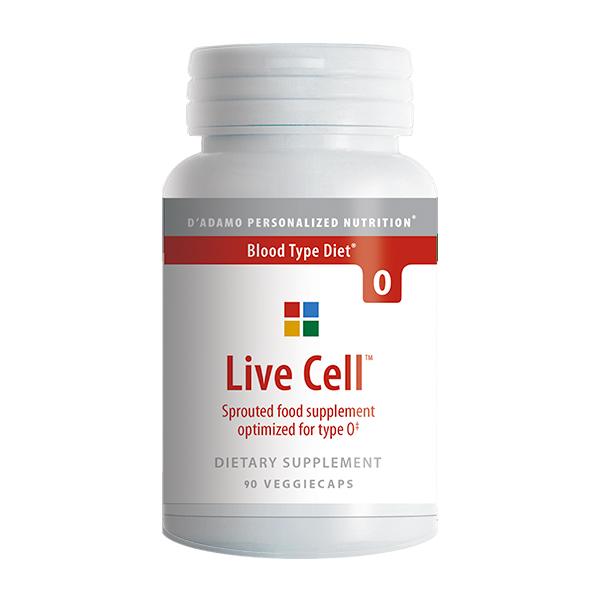 LIVE CELL 0 integratore alimentare d'adamo