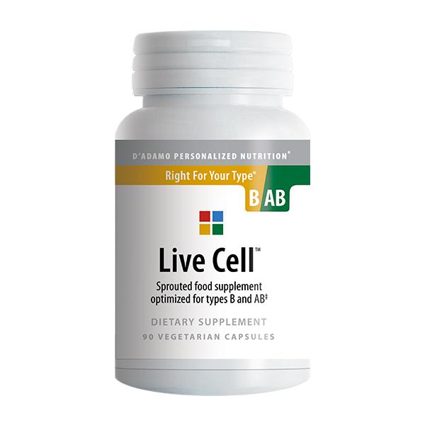 LIVE CELL B-AB integratore alimentare d'adamo