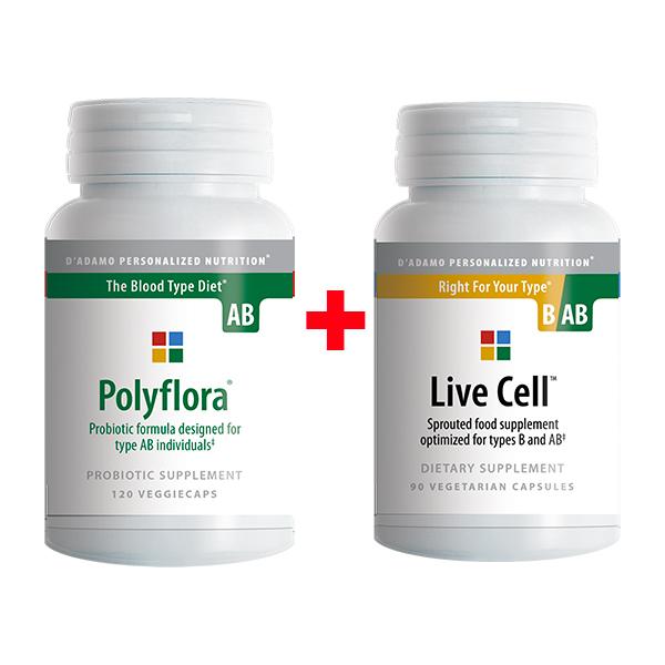 polyflora AB live cell B-AB promozione