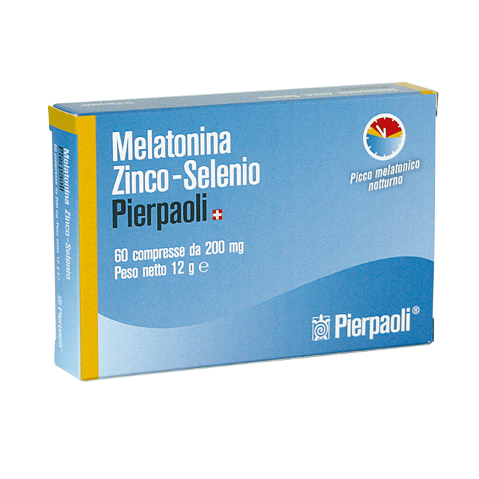 melatonina zinco selenio pierpaoli