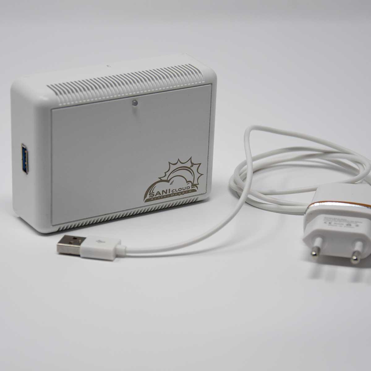 generatore di ozono portatile per aria e acqua professionale made in italy